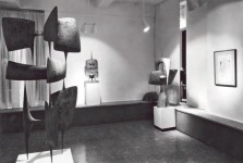Exposition The Contemporaries Gallery - 1961, New York (Droits réservés - Archives Hiquily)